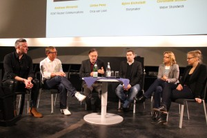 Podiumsdiskussion bei ThePitch