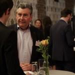 Dietrich Schulze van Loon von ORCA van Loon Communications im Gespräch mit einem Aktiven Mitglied