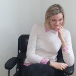 DAPR-Praktikantin Ann-Kristin