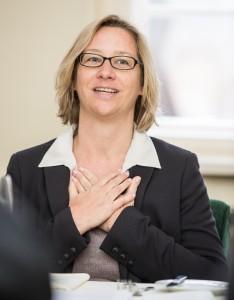 Christiane Schulz, CEO Weber Shandwick Deutschland, beim Inspiration Lunch