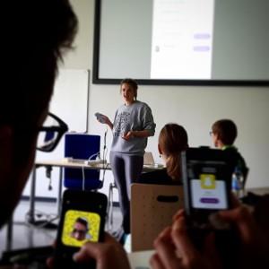 SnapChat-Session auf dem #cosca16
