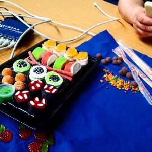 Süßigkeiten beim Sweetdating auf dem #cosca16