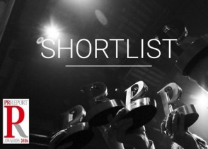 PR Report Awards 2016 Shortlist