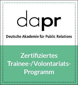 DAPR-Zertifizierungssiegel
