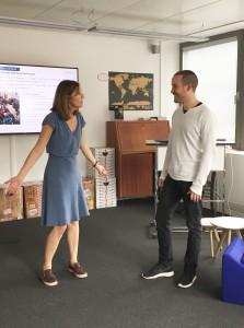 Präsentationsworkshop mit Violeta Mikic