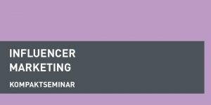 dapr-Seminar Influencer Marketing
